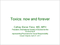 Toxics: Now and Forever