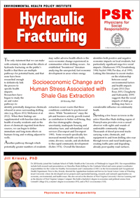 Socioeconomic Change and Shale Gas