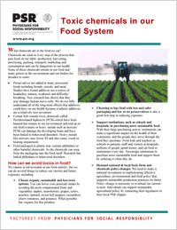 Toxic Chemicals in Our Food System