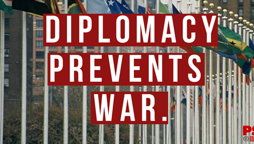 Diplomacy Prevents War